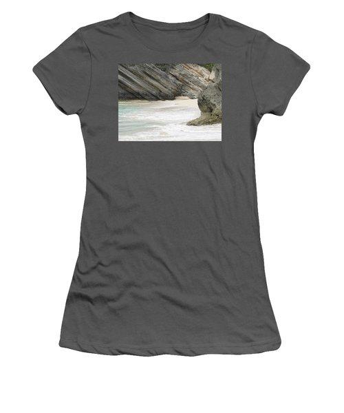 Bermuda Beach Women's T-Shirt (Junior Cut)