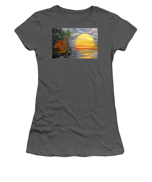 Magical Sunser Jenny Lee Discount Women's T-Shirt (Athletic Fit)