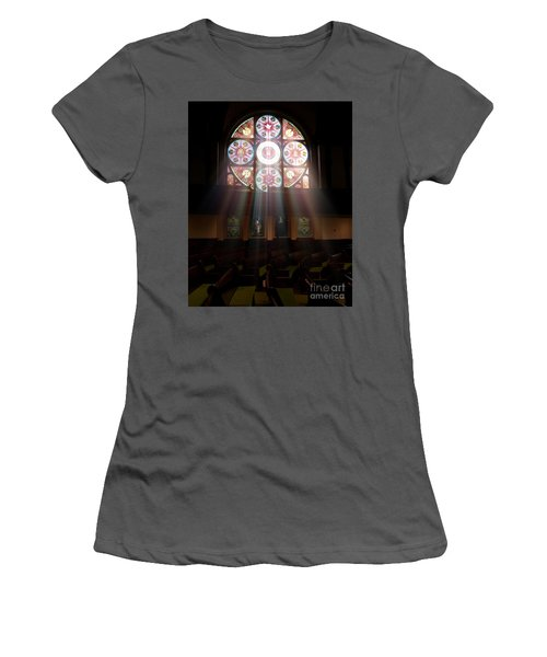 Birmingham Stained Glass Women's T-Shirt (Athletic Fit)