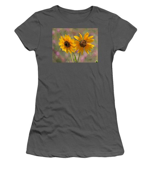 Black-eyed Susan Women's T-Shirt (Athletic Fit)
