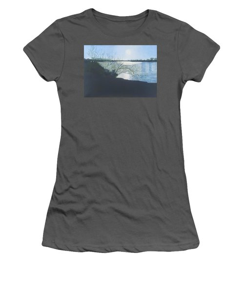 Black Swan Lake Women's T-Shirt (Athletic Fit)