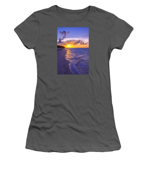 Blaze Women's T-Shirt (Junior Cut) by Chad Dutson