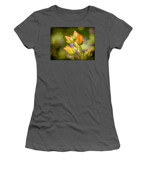 Blooming Succulents I Women's T-Shirt (Athletic Fit)