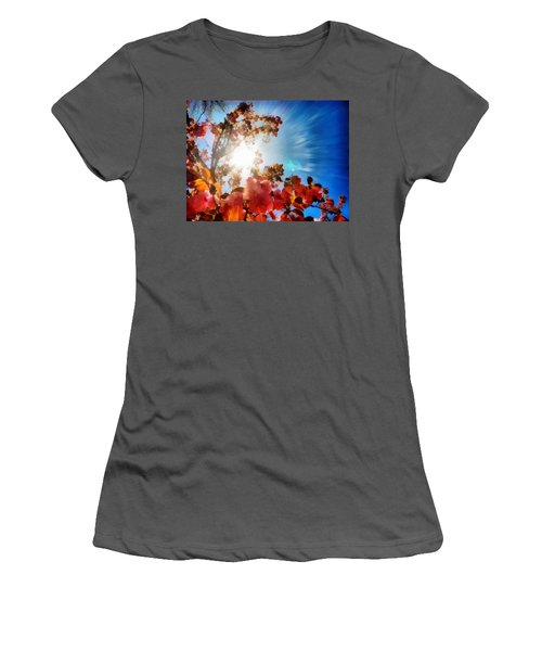 Blooming Sunlight Women's T-Shirt (Athletic Fit)