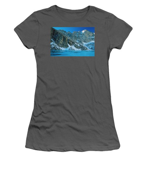 Blue Chasm Women's T-Shirt (Junior Cut) by Eric Glaser