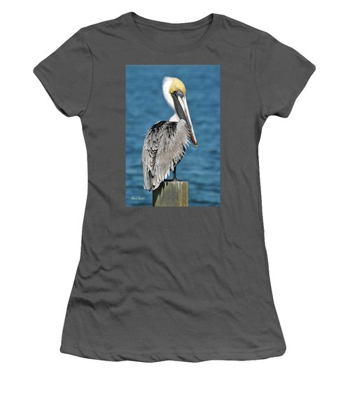 Blue Eyed Blondie Women's T-Shirt (Athletic Fit)