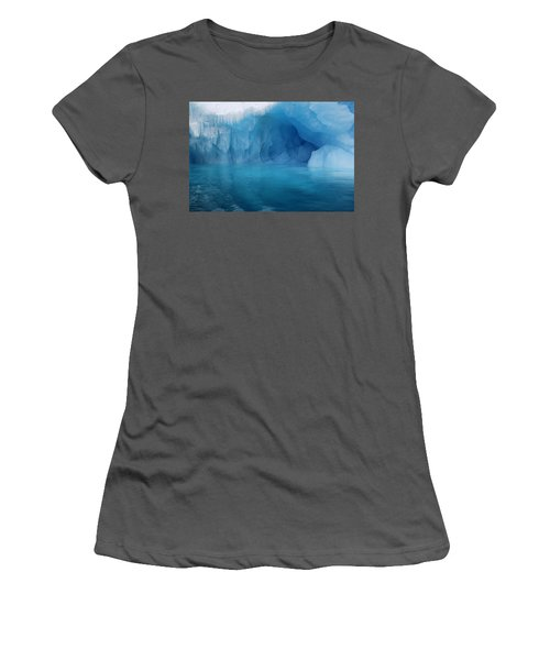 Blue Grotto Women's T-Shirt (Athletic Fit)
