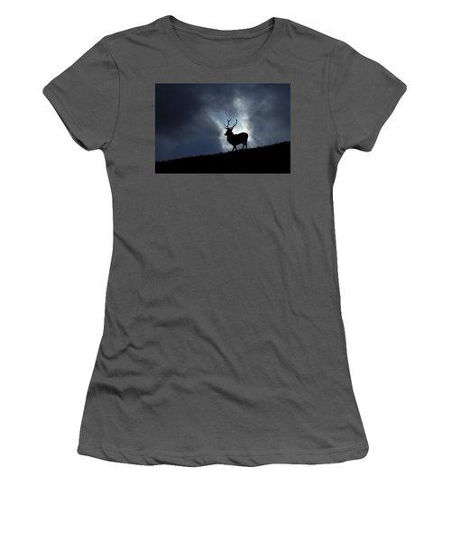 Blue Horizon Women's T-Shirt (Athletic Fit)