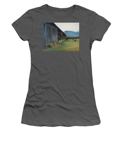 Blue Ridge Vineyard Women's T-Shirt (Athletic Fit)