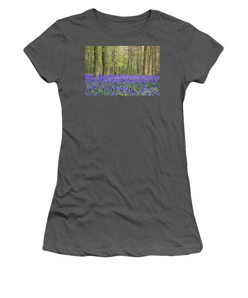 Bluebells Surrey England Uk Women's T-Shirt (Athletic Fit)