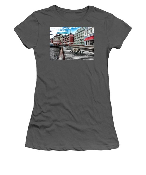 Boardwalk Early Morning Women's T-Shirt (Athletic Fit)