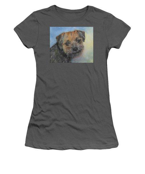 Border Terrier Jack Women's T-Shirt (Athletic Fit)