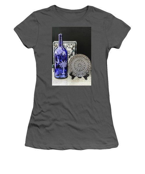 Bottle And Plate Women's T-Shirt (Athletic Fit)