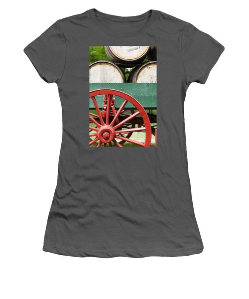 Bourbon Wagon Women's T-Shirt (Athletic Fit)
