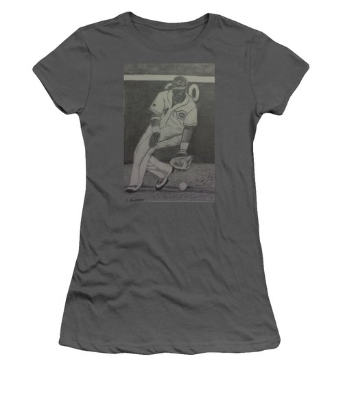 Brandon Phillips Women's T-Shirt (Junior Cut) by Christy Saunders Church