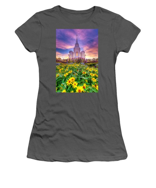 Brigham City Temple Women's T-Shirt (Athletic Fit)