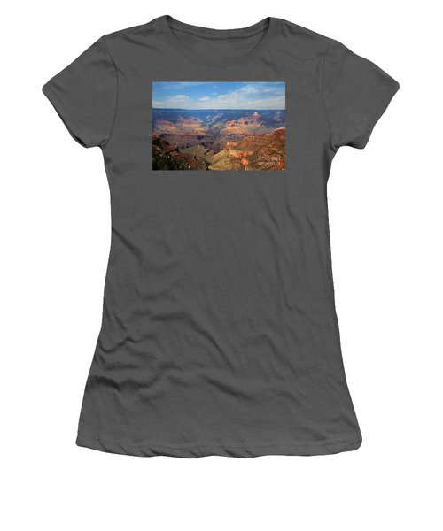 Bright Angel Trail Grand Canyon National Park Women's T-Shirt (Athletic Fit)