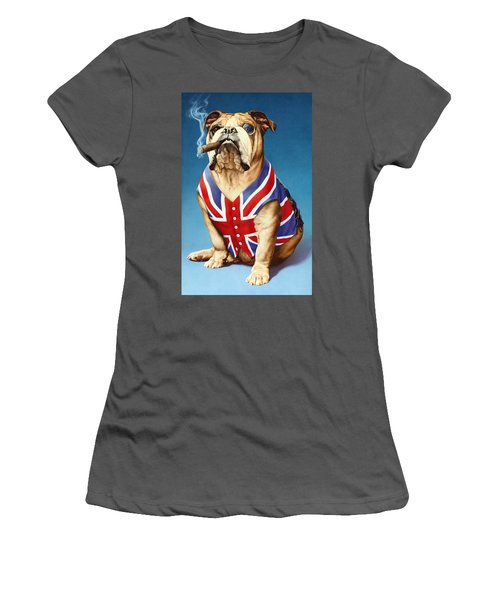 British Bulldog Women's T-Shirt (Athletic Fit)