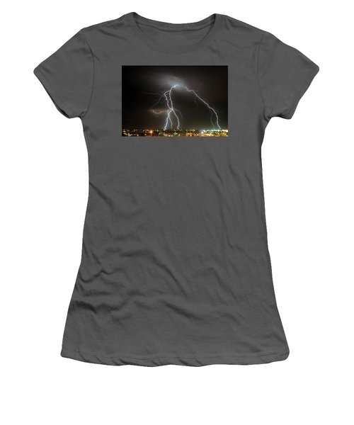 Bunbury Lightning Women's T-Shirt (Athletic Fit)