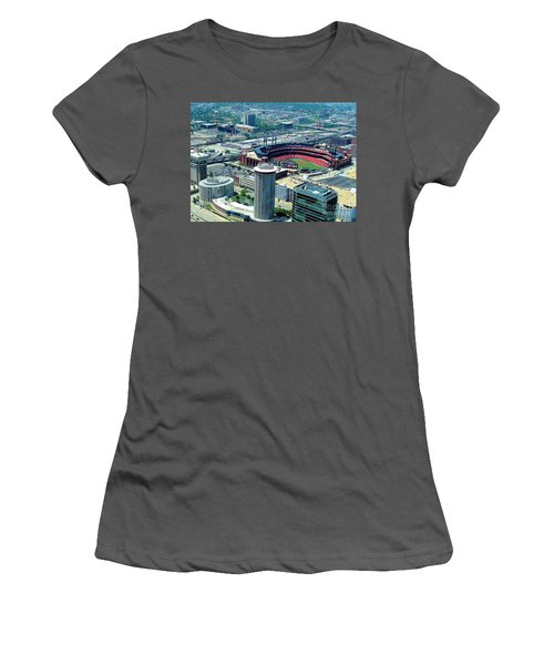 Busch Stadium From The Top Of The Arch Women's T-Shirt (Athletic Fit)