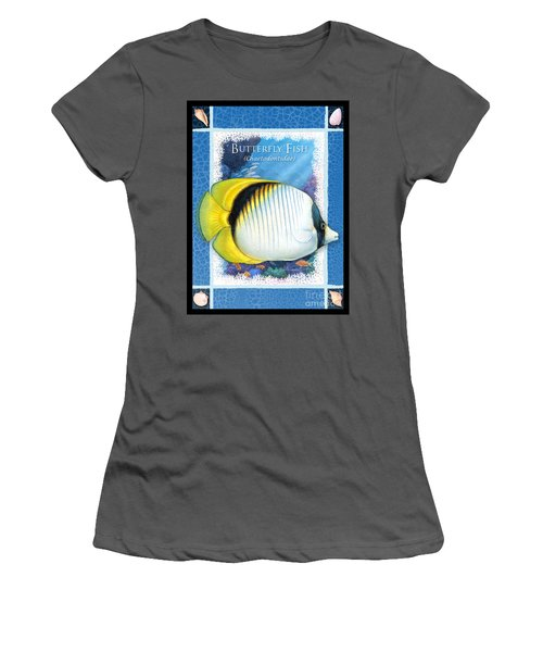 Butterfly Fish Women's T-Shirt (Athletic Fit)