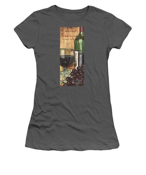 Cabernet Sauvignon Women's T-Shirt (Athletic Fit)