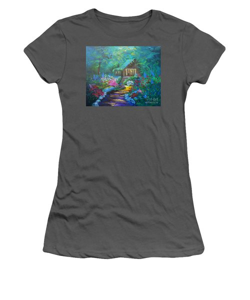 Cabin In The Woods Jenny Lee Discount Women's T-Shirt (Athletic Fit)
