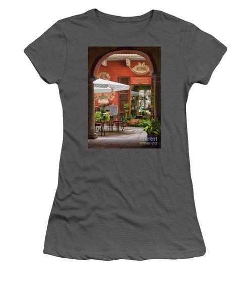 Caffeteria Orta San Guilio Women's T-Shirt (Athletic Fit)