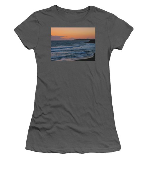Women's T-Shirt (Junior Cut) featuring the photograph Cambria by Angela J Wright