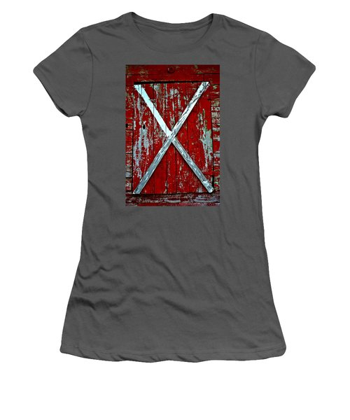 Camp Westminster Barn Women's T-Shirt (Athletic Fit)