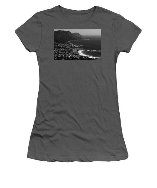 Camps Bay Cape Town Women's T-Shirt (Junior Cut) by Aidan Moran