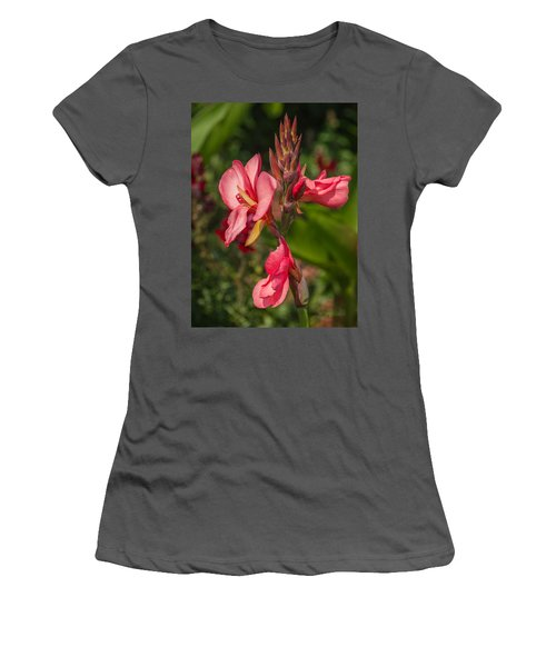 Canna Lily Women's T-Shirt (Athletic Fit)