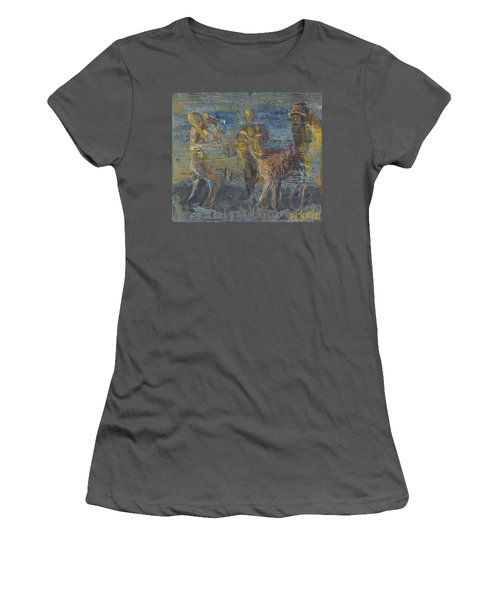 'can't Force A Mule' Women's T-Shirt (Athletic Fit)