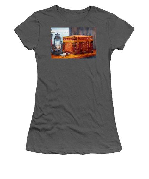 Capt. Murray's Chest Women's T-Shirt (Athletic Fit)