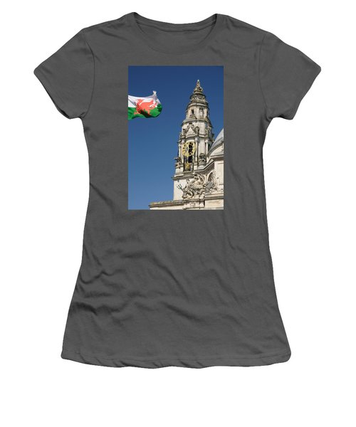 Cardiff City Hall Women's T-Shirt (Athletic Fit)