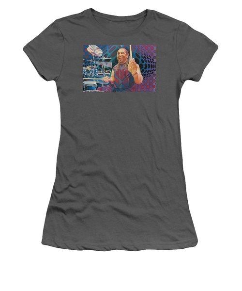 Carter Beauford-op Series Women's T-Shirt (Athletic Fit)