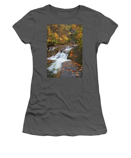 Cascade In The Glen Women's T-Shirt (Athletic Fit)