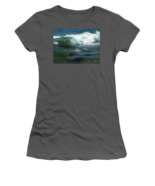 Cascade Wave Women's T-Shirt (Athletic Fit)