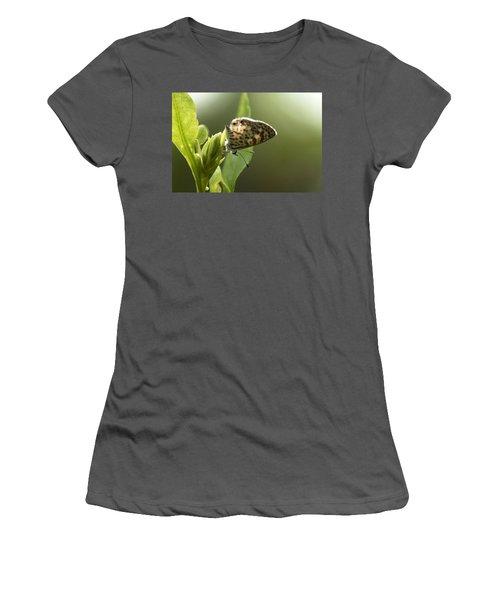 Cassius On Plumbago Women's T-Shirt (Athletic Fit)