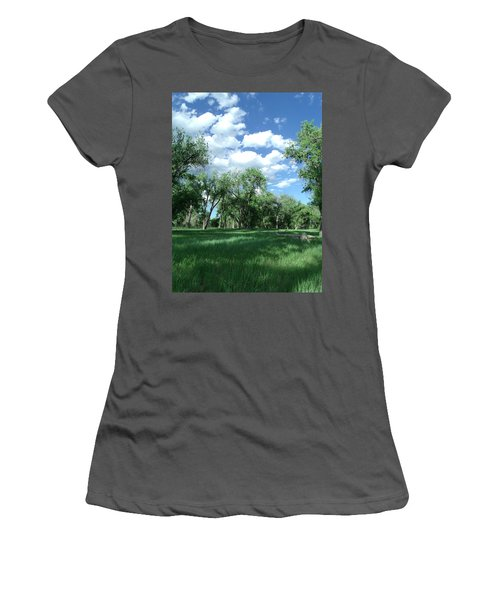 Casting Shadows Women's T-Shirt (Athletic Fit)