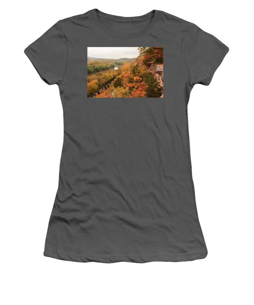 Castlewood State Park Women's T-Shirt (Athletic Fit)