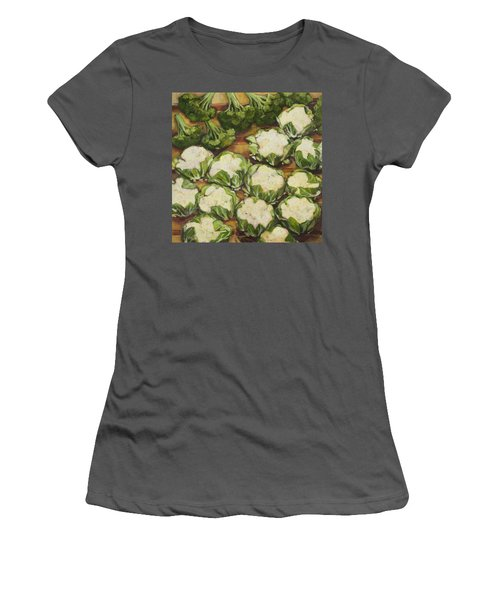 Cauliflower March Women's T-Shirt (Athletic Fit)