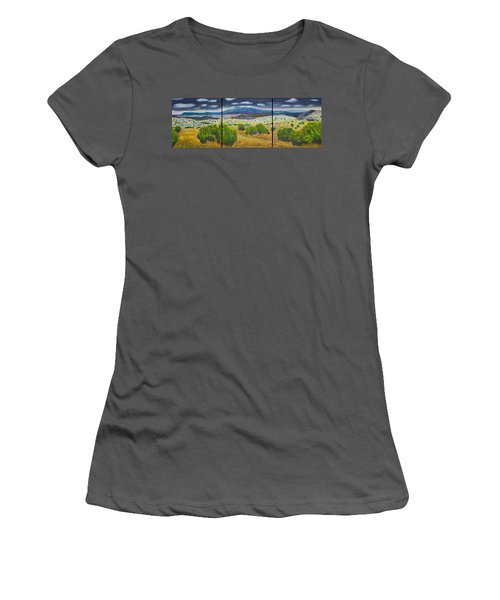 Cerrillos Spring Women's T-Shirt (Athletic Fit)