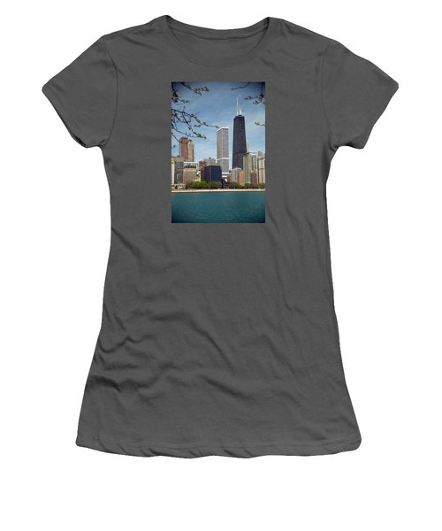 Chicago Spring Women's T-Shirt (Junior Cut) by Lawrence Boothby