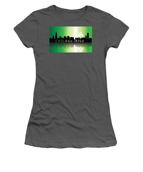 Chigago Irish Women's T-Shirt (Athletic Fit)