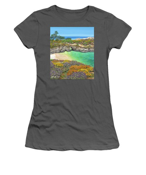 China Cove Paradise Women's T-Shirt (Athletic Fit)