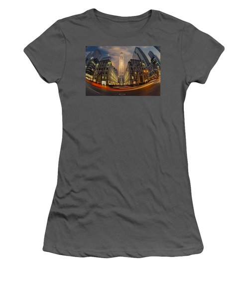 Christmas At Rockefeller Center Women's T-Shirt (Athletic Fit)