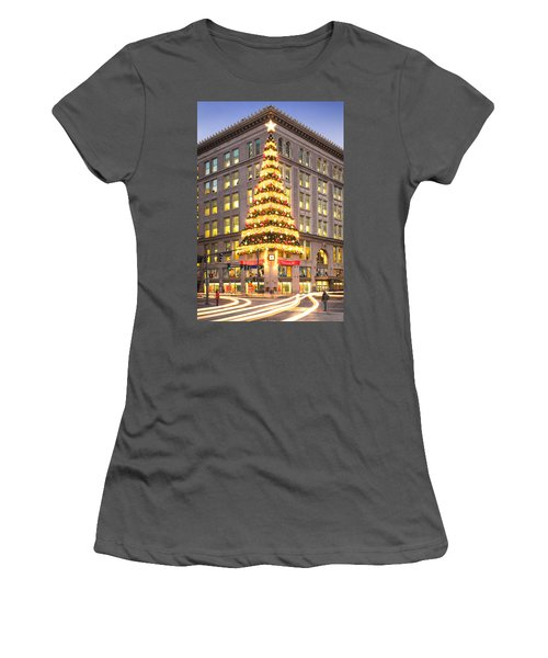 Christmas In Pittsburgh  Women's T-Shirt (Athletic Fit)