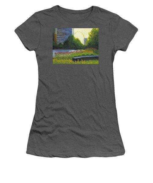 City Garden St. Louis Women's T-Shirt (Athletic Fit)