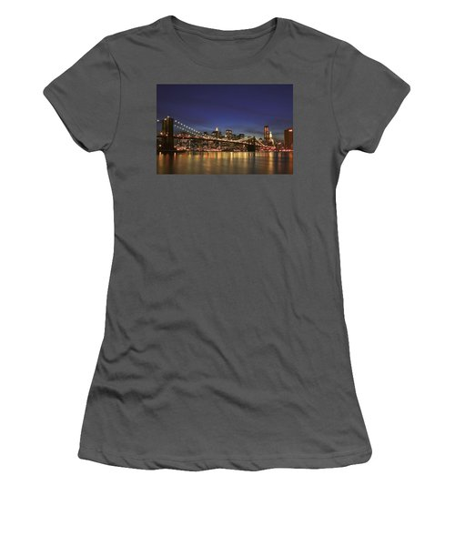 City Of Lights Women's T-Shirt (Athletic Fit)